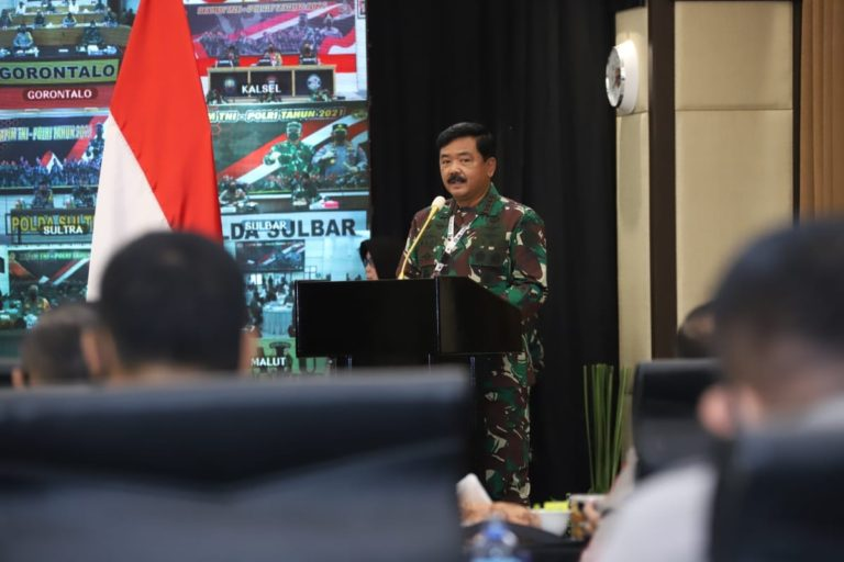 Panglima TNI Sebut Gesekan Personel TNI-Polri Semakin Berkurang