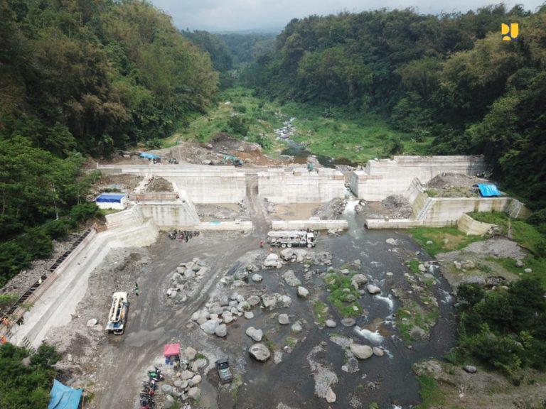 95 Sabo Dam Baru disiapkan untuk Kurangi Risiko Bencana Banjir Lahar Gunung Merapi