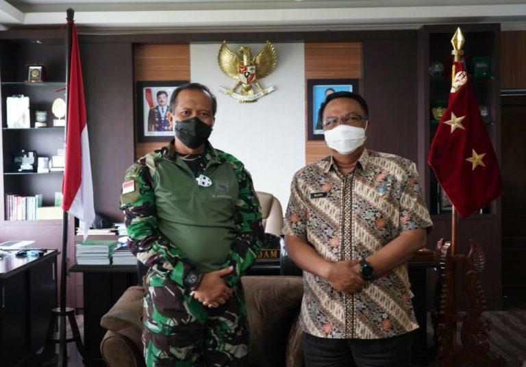 BNNP Minta Pangdam Kasuari Dukung Program 'Papua Barat Bersinar'