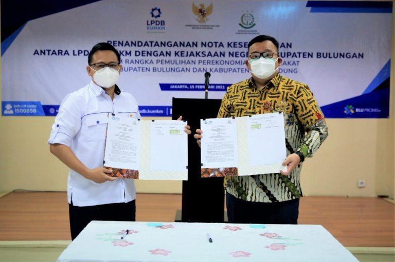Tingkatkan Kompetensi Hukum Dalam Penyaluran Dana Bergulir, LPDB-KUMKM Gandeng Kejari Bulungan11