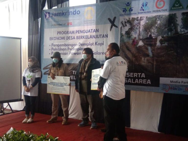 Jamkrindo Bantu Pemberdayaan Ekonomi Petani Kopi di Garut