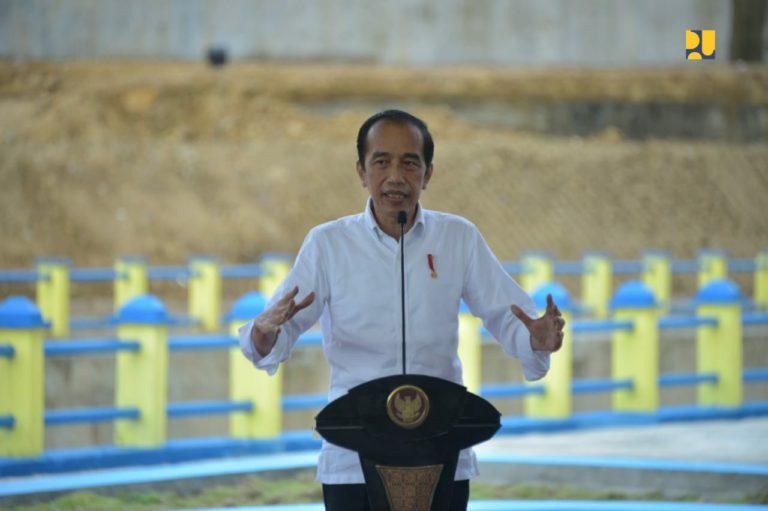 Resmikan Bendungan Napun Gete, Jokowi: Kunci Kemakmuran di NTT ini adalah Air