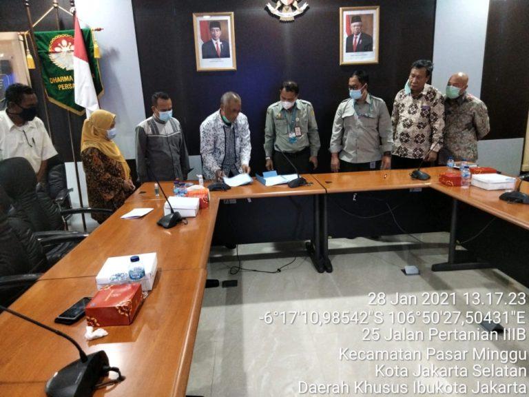 Kementan Gandeng Pelaku Industri Amankan Pemasaran Ubi Kayu di Sukabumi