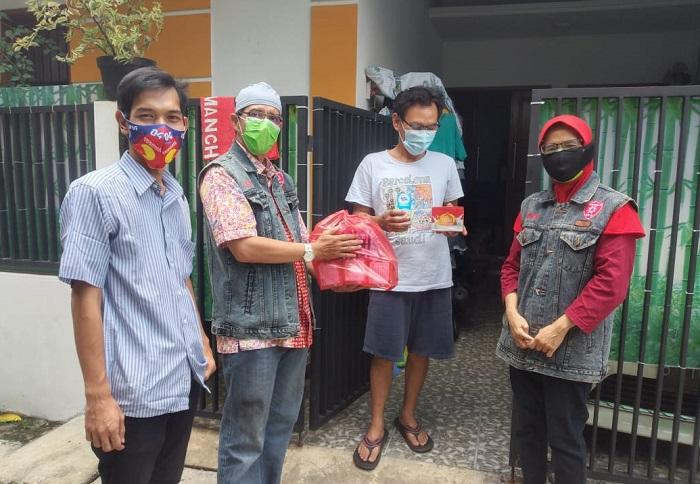RT Milenial Depok Doakan IBH Agar Sembuh dari Covid-19