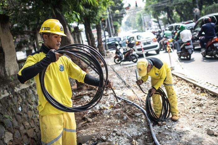 Buntut Pemotongan Kabel, Pemprov DKI Awasi Ketat Rumah Pompa Air