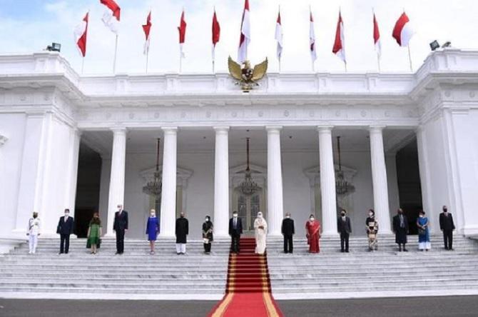 Jokowi Kantongi Surat Kepercayaan dari Tujuh Dubes LBBP