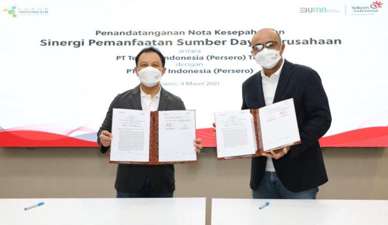 Sinergi Telkom-Pupuk Indonesia Perkuat Ketahanan Pangan Nasional untuk Indonesia Maju
