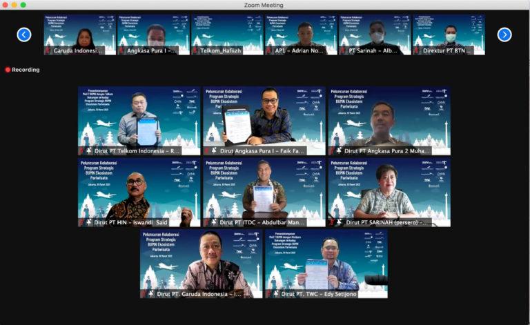 Sinergi Telkom dan 7 BUMN, Perkuat Sektor Wisata Indonesia ke Kancah Global