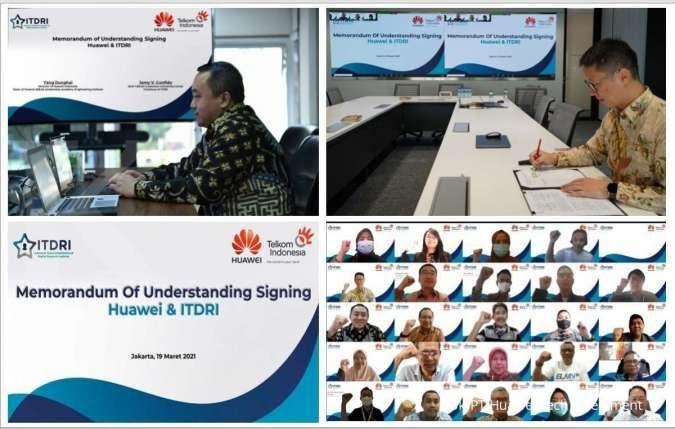 Telkom-Huawei Perkuat Kerja Sama, Kembangkan Talenta Teknologi Digital  Indonesia