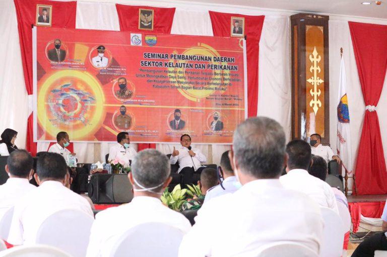 Rokhmin Dahuri: Potensi Kabupaten SBB Memenuhi Syarat jadi Sentra Lumbung Ikan Nasional