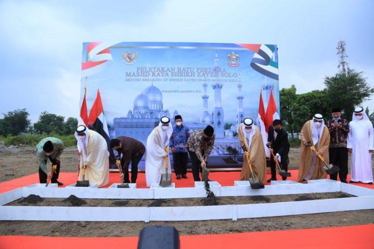 Pembangunan Masjid Agung Sheikh Zayed di Solo Diharap Perkuat Hubungan RI-UEA
