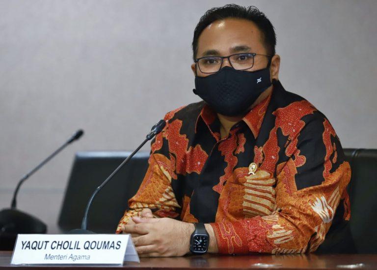 Menag Yaqut Kutuk Aksi Bom Bunuh Diri di Depan Gereja Katedral Makassar