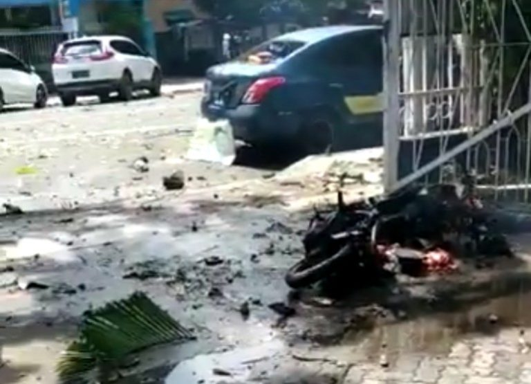 Ledakan di Depan Gereja Katedral Makassar, Diduga Aksi Bom Bunuh Diri