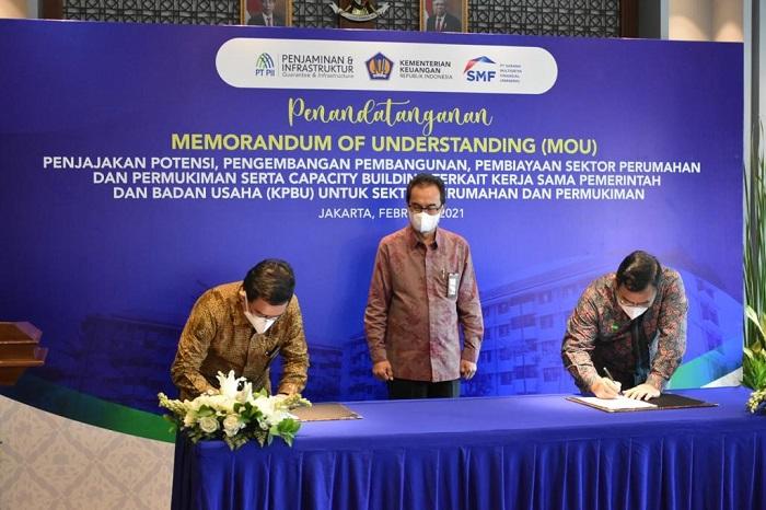 Gandeng PT PII dan PT SMV, Pemerintah Wujudkan Perumahan Rakyat