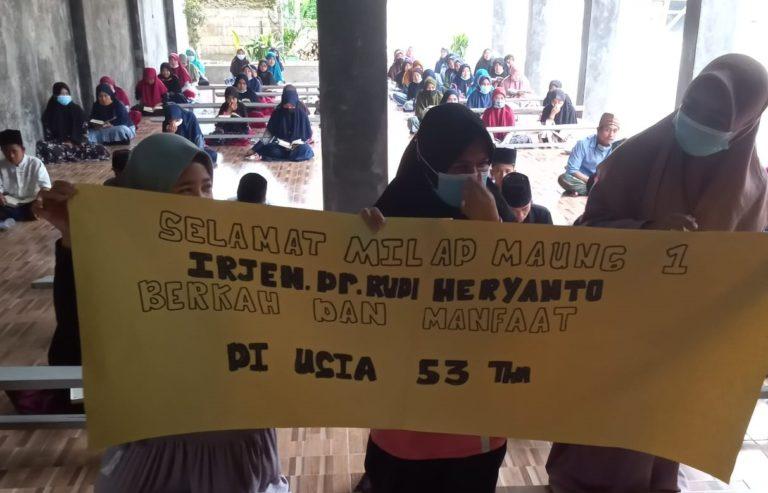 Ulang Tahun Kapolda, Pesantren di Banten ini Swadaya Gelar Khataman Al-Qur'an