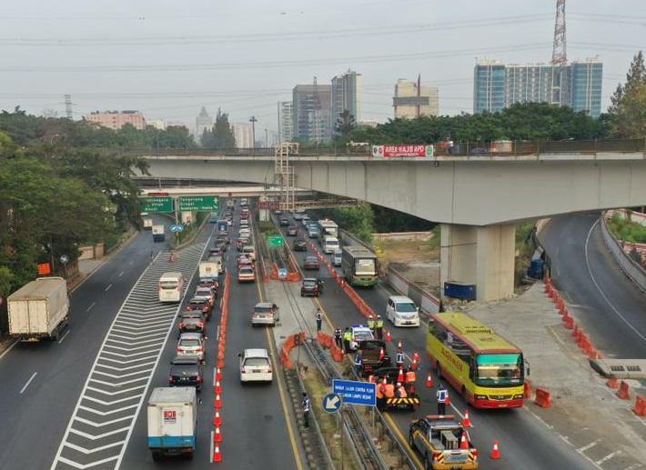 Jasa Marga Lanjutkan Pemeliharaan Ruas Tol Dalam Kota
