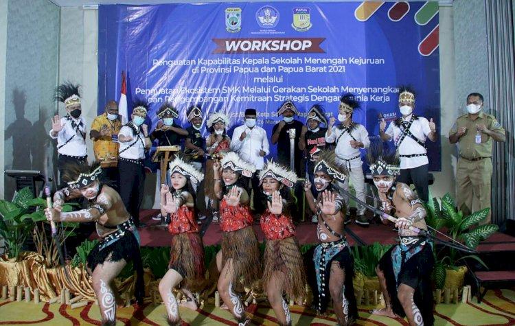 Kemendikbud Ubah Paradigma Pendidikan SMK di Papua Melalui GSM