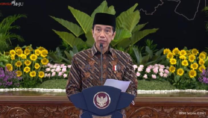 Buka Kongres ke-XX, Jokowi: Kader PMII Harus jadi Navigasi Perubahan