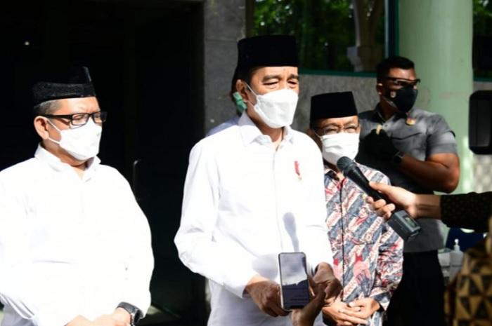 Takziyah ke Rumah Duka, Jokowi Kehilangan Sosok Artidjo Alkostar