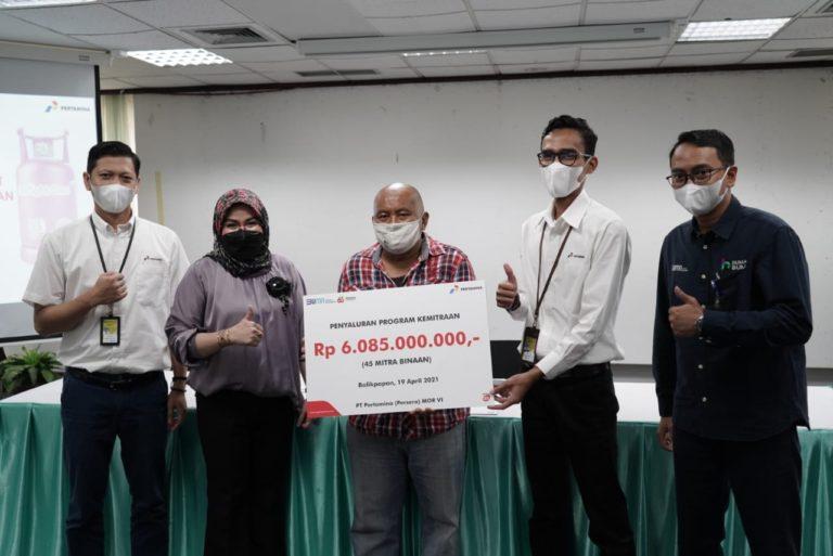 Pertamina Salurkan Pinjaman Modal Usaha Rp 6 M untuk Pelaku UMKM di Kalimantan