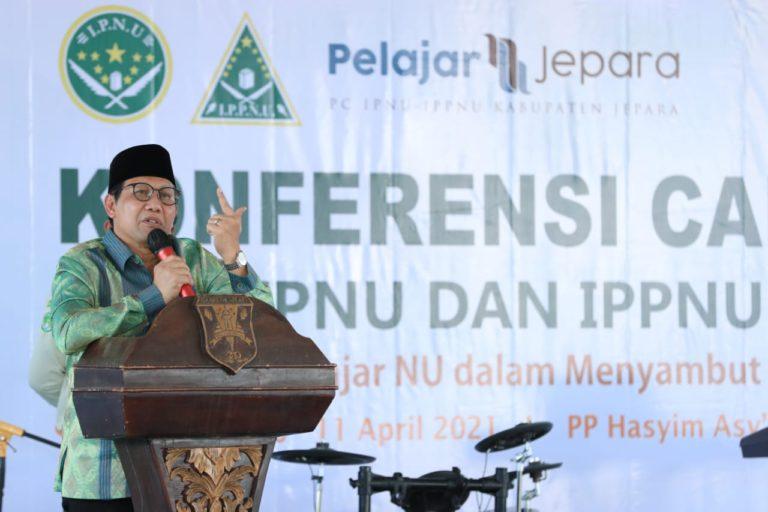 Gus Menteri Ajak IPNU-IPPNU Bersinergi Bangun Desa