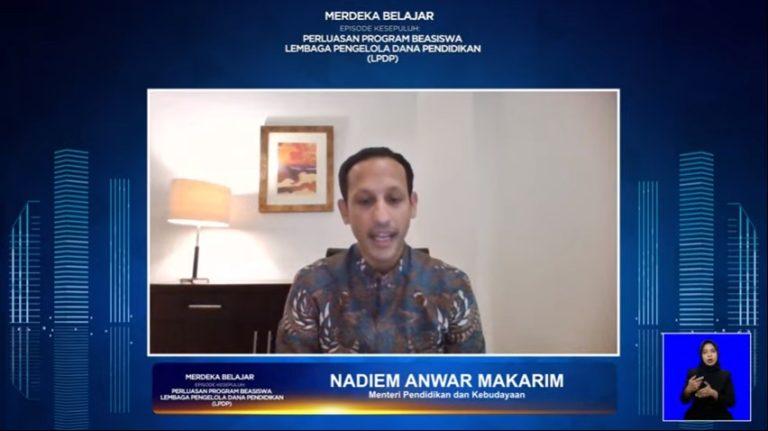 Kemendikbud-LPDP Berkolaborasi Ciptakan SDM Indonesia Unggul