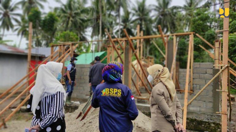 Kementerian PUPR Salurkan 1.260 Bantuan Rumah Swadaya di Gorontalo melalui Skema Padat Karya