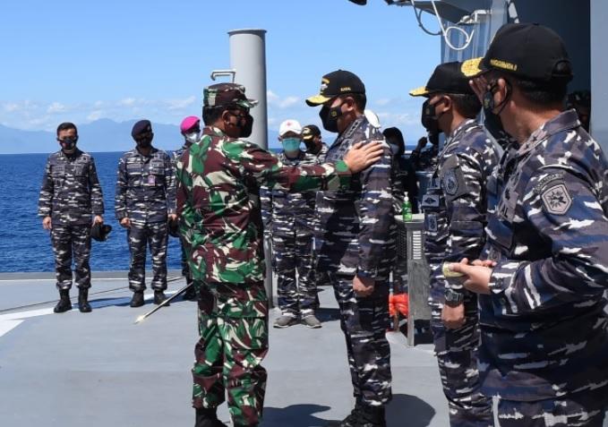 Personil TNI AL Kembali Diterjunkan Lacak KRI Nanggala 402