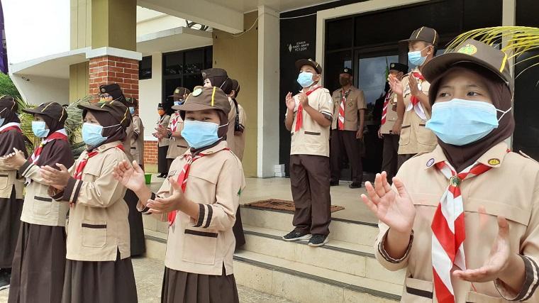 Asyik! Pramuka Depok Berprestasi Bisa Belajar di Sekolah Negeri