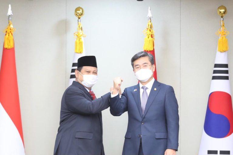 Menhan Siap Kerja Sama Pertahanan dengan Korea