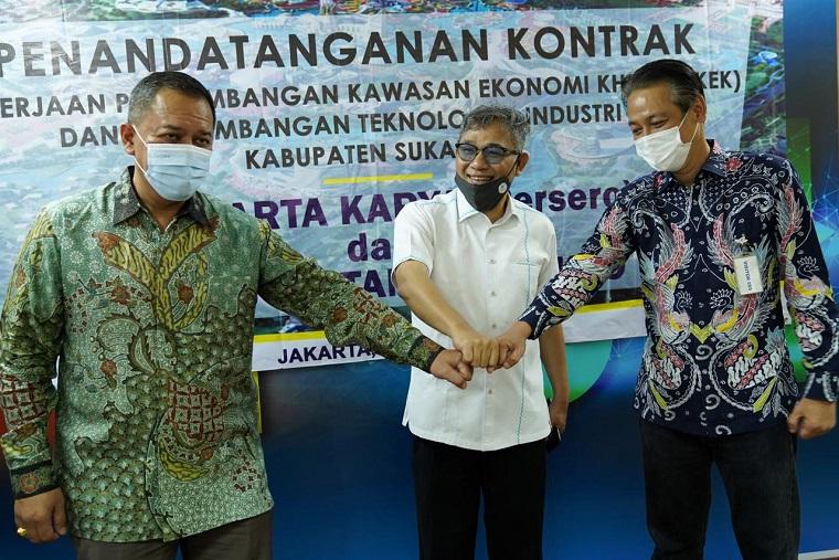 Gandeng AMKA, Budiman Sudjatmiko Bakal Bangun Bukit Algoritma di Sukabumi