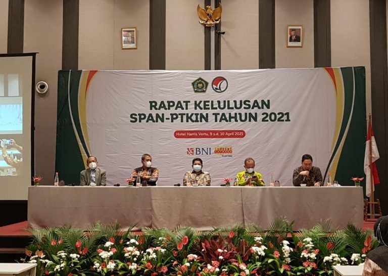 Kemenag Umumkan Hasil SPAN-PTKIN 12 April 2021