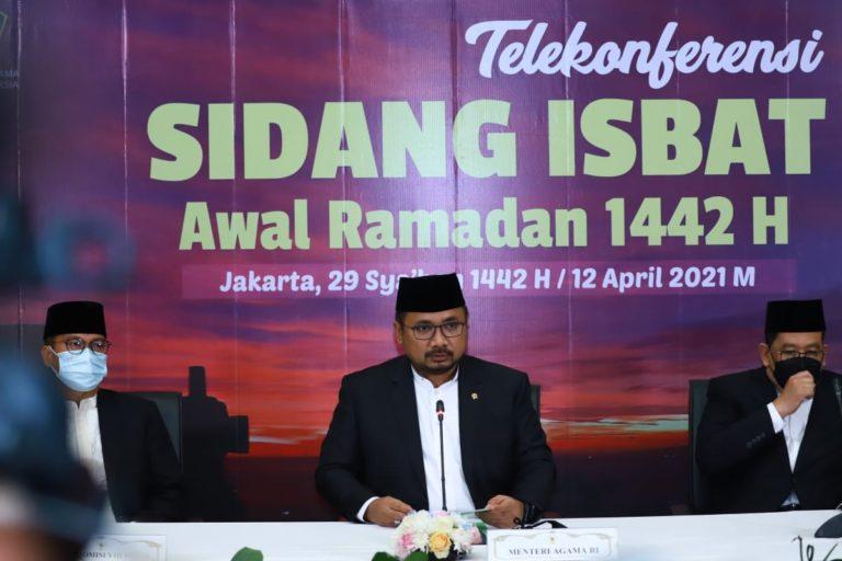 Tok! Pemerintah Tetapkan Awal Ramadan Jatuh pada 13 April 2021