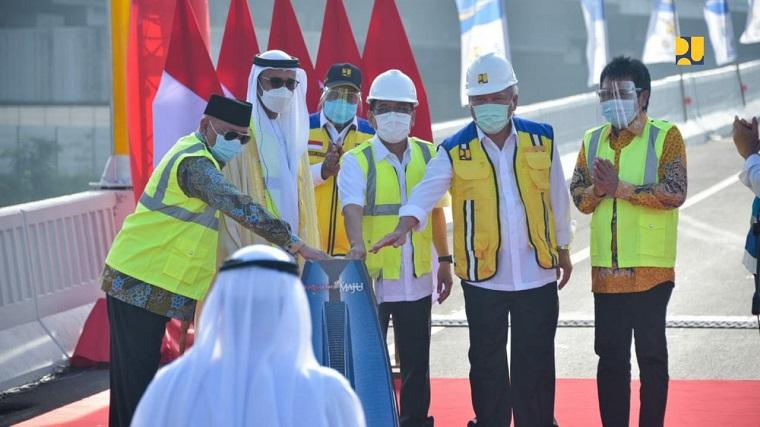Tol Japek II Resmi jadi Jalan Layang MBZ Sheikh Mohamed Bin Zayed
