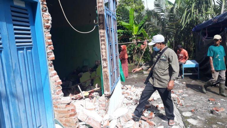 LPBI NU Lumajang Turunkan Relawan Bantu Korban Gempa Jawa Timur