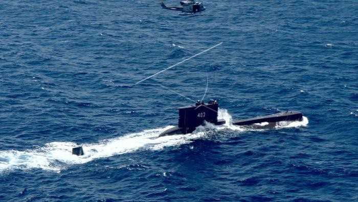 Kemhan Pantau Pencarian Kapal Selam KRI Nanggala 402