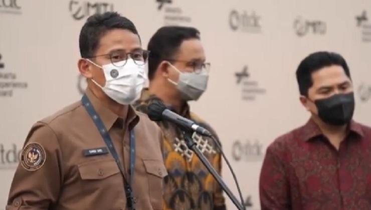 Sandiaga Uno Doakan Jakarta Tetap Tangguh dan Maju
