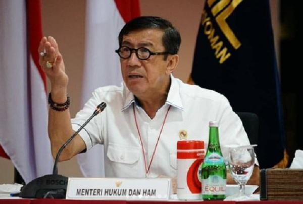 Yasonna: Pasal Penghinaan Presiden Bukan untuk Membungkam Kritik!