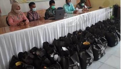 Wow! Program Disdik Berbagi di Depok Kumpulkan 4.307 Sembako