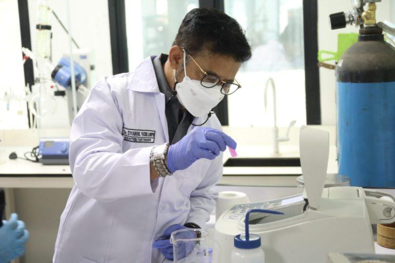 Mentan Syahrul Bangga Laboratorium Karantina Sudah Maju
