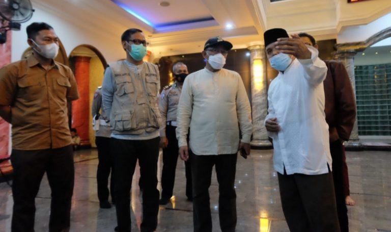 Wali Kota Depok Pantau Penerapan Prokes di Masjid Jelang Salat Idul Fitri