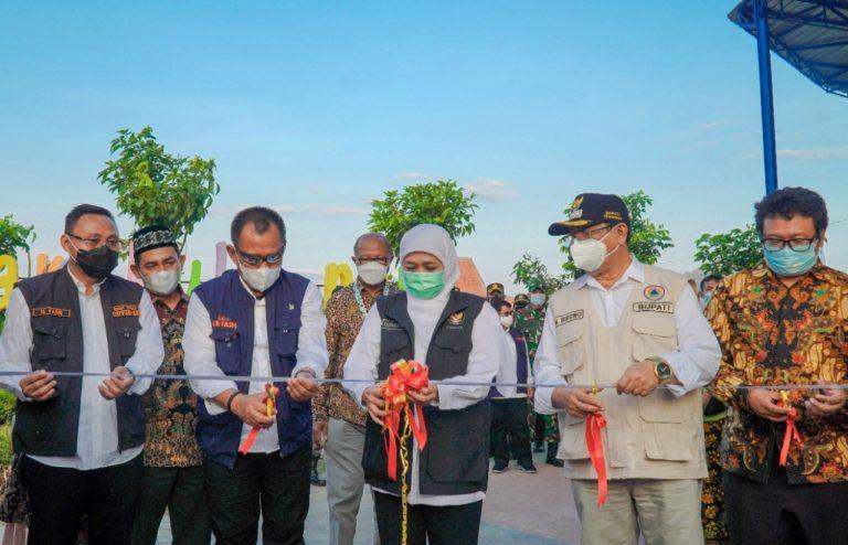 Khofifah Resmikan Zona KIP di Desa Wisata Nangkula Park