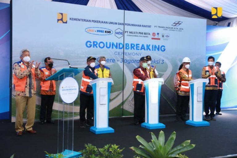 Jalan Tol Cijago Seksi Tiga, Kukusan-Cinere 5,44 km Mulai Konstruksi