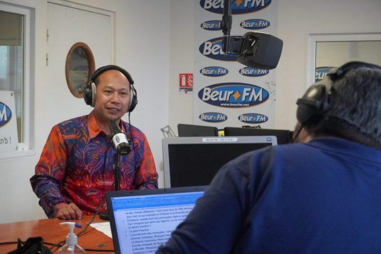 Budaya dan Kuliner Khas  Indonesia Diangkat oleh Radio Nasional Prancis Beur FM