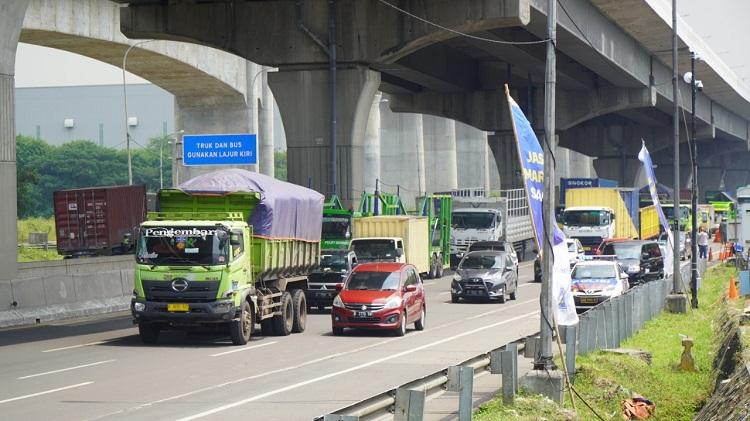 H-7 Lebaran, 95 Ribu Kendaraan Mulai Tinggalkan Wilayah Jabotabek
