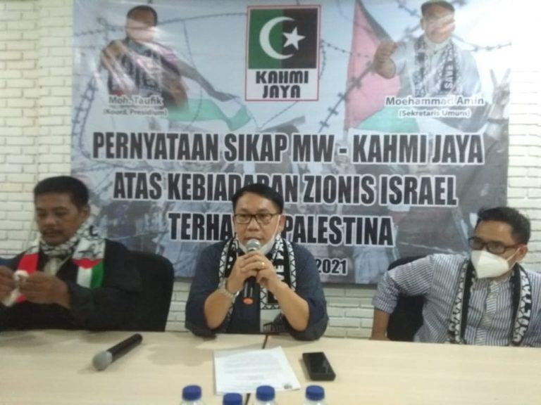 Kahmi Jaya Minta Pemerintah Bersikap Tegas Soal Serangan Israel