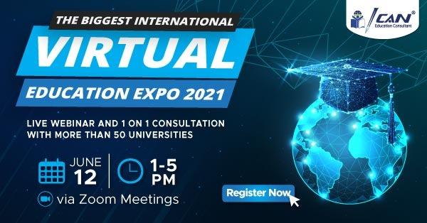 ICAN Expo; Pameran Pendidikan Virtual ICAN Education Gratis