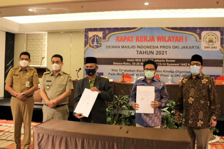 Masjid dan Mushola di Jakarta Dapat Dana BOTI Lewat Bank DKI