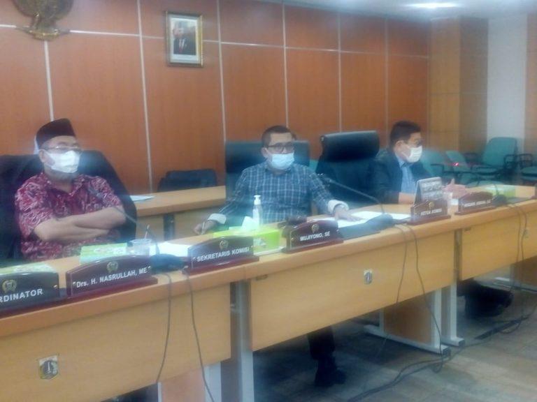 Posisi Sekwan Masih Dijabat Plt, Komisi A DPRD DKI: Mau Sampai Kapan?