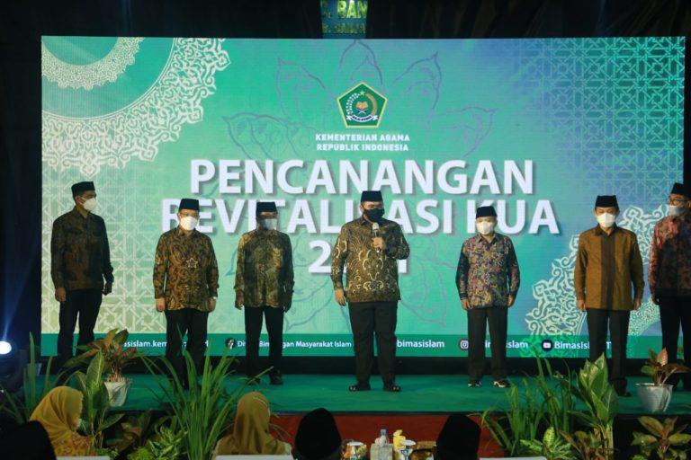 Menag Yaqut Bertekad Revitalisasi KUA Seluruh Indonesia